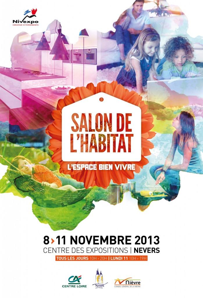 Gildas bizeul graphiste salon de l habitat nevers - Salon habitat bordeaux ...